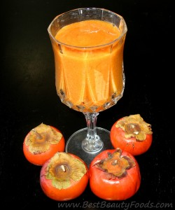 Persimmon Protein Shake
