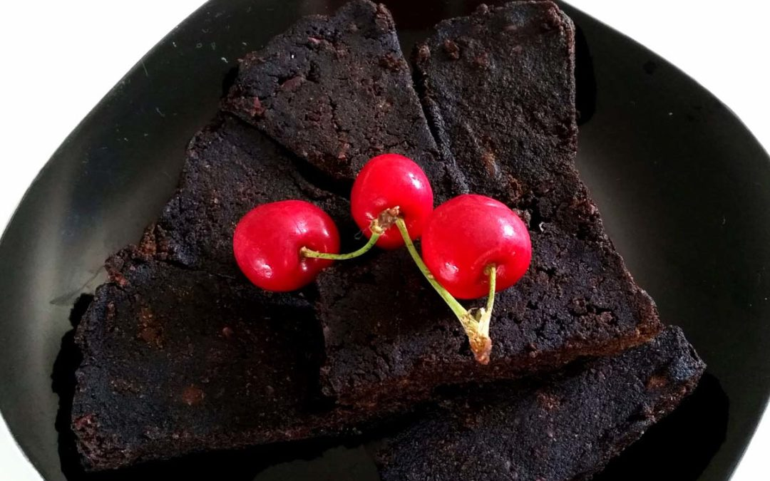 Black Sapote Brownies