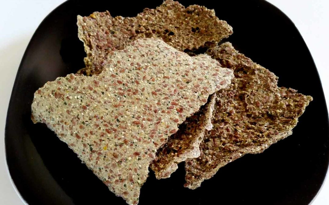 Buckwheat Flax Crackers