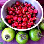 Cherries & Black Sapotes