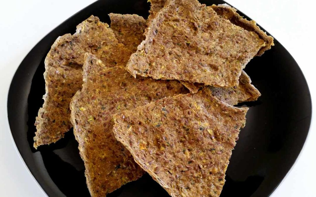 Herb Flax Crackers