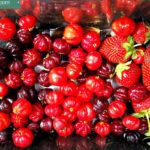Surinam Cherries & Strawberries from the Farm