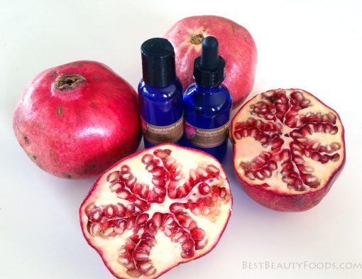 Organic Anti Aging Skincare with Pomegranate!